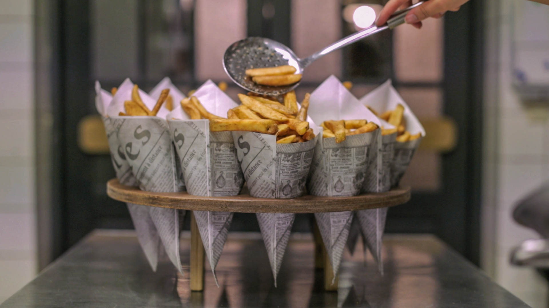 French Fry Bouquet In A Mason Jar : WeWantPlates